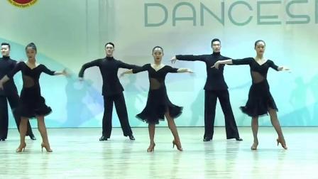 魅力伦巴舞第二期练习 美在挤压放胯