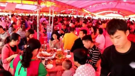 广西北流市通流桥杨氏宗祠重建竣工回香火庆典--吉日吉时,紫气东来,