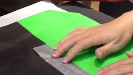 反光刻字膜 操作视频