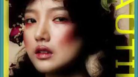 西安美发学校 西安金栗栗红强美发化妆学校原创作品展示6