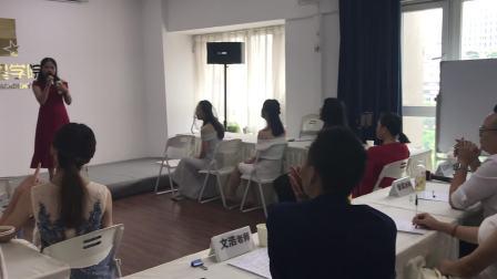 深圳主持人培训 全明星学院 学员才艺展示18