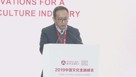 2019中国文化金融峰会 马峰宣读东城区创建国家文化与金融合作示范区复函,创建期满对示范区创建工作进行验收