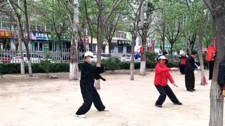 2019剑舞瑛姿时隔7年习练42式太极拳