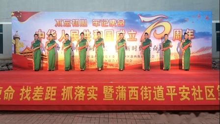 沈阳市辽中区蒲西街道平安社区2019文化艺术节