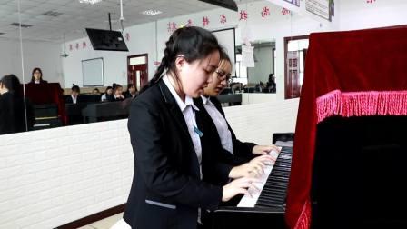 钢琴:春天在哪里 18学5