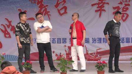 杨市镇七甲村文化上墙、送戏下乡庆典2019.12.16