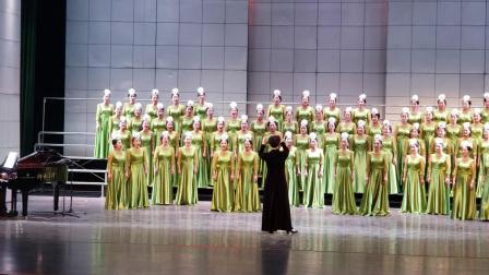 《我像雪花天上来》西安市小寨工人文化宫培艺女子合唱团