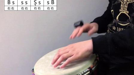 《断了的弦》非洲鼓教学