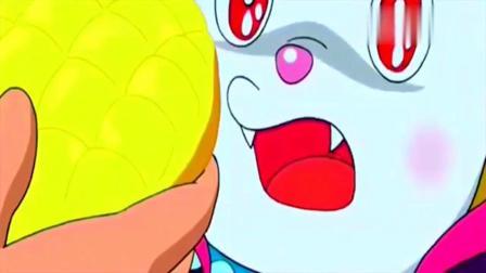 哆啦A梦:黑化后的哆啦美,想对哆啦A梦下手,菠萝面包起了大作用!
