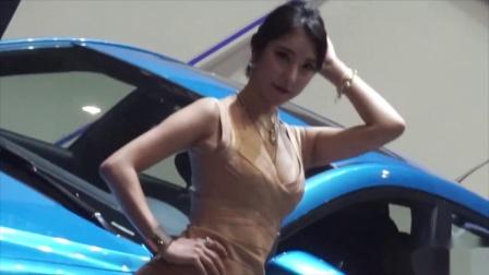 150412 2015 首尔车展 韩国美女模特车模 윤체리(尹樱桃)(4
