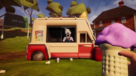 你好邻居06我赊账买冰淇凌怪人的冰淇淋,邻居老王还钱不乐意了