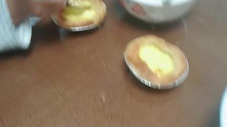 妈妈做的蛋挞真好吃