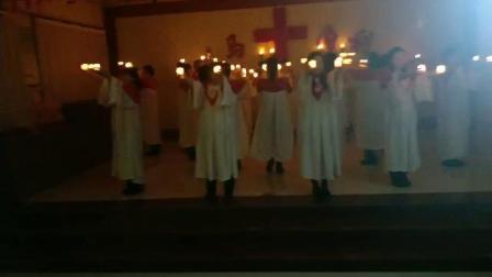 德惠市边岗乡金星基督教会《烛光崇拜》