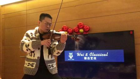 苏州欧古艺术 魏巍小提琴 《绒花》