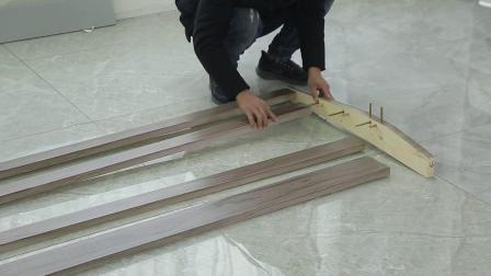 sf实木床安装视频-床