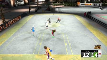 斗鱼TV喝不完的可乐直播记录NBA2K20生涯公园和阿特拉斯