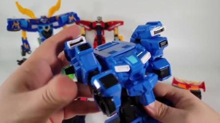 迷你特工队宝宝玩具拼装弗特机器人也加入了变形的队伍