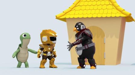 迷你特工队游戏:麦克斯看到了难过的乌龟爸爸他们要去干嘛呢?