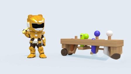 迷你特工队游戏:拿着个小锤子麦克斯这是想要做什么?