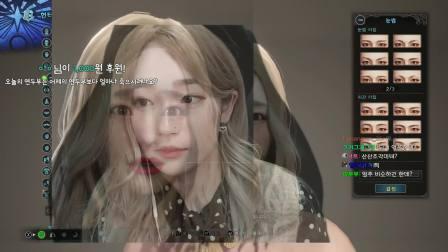 【游民星空】《MHW》韩国女主播捏脸