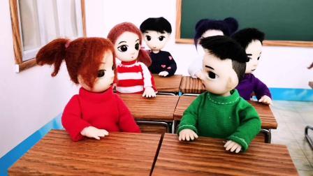情景剧:少字加偏旁赢糖果,班长一下写了两个,木瓜能得到奖励吗