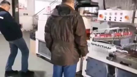 西安客户上午样品试机,下午监督打包发货——天津市舜天包装器材有限公司