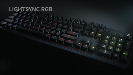 G512 LIGHTSYNC RGB 机械游戏键盘简介