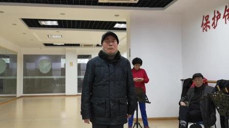 王硕昭,鲍秋雁练唱《三娘教子》片段,京胡龚辉,崔誠权摄像!
