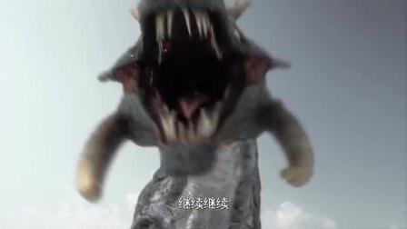 巨型怪兽袭击海岸,人类使用机甲获得首战胜利