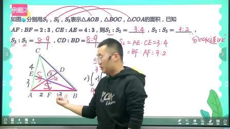 2020六年级寒假班第5讲燕尾模型敏学班课堂实录