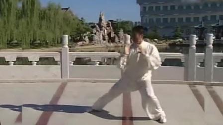 56式陈式太极拳竞赛套路全套正面演练 霍冬利老师