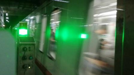 上海地铁1号线135号车上海体育馆站上行出站,富锦路站方向(第2部)