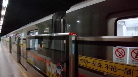 上海地铁1号线177号车莘庄站折返
