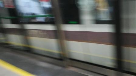 深圳地铁9号线淡咖啡编号901出车公庙站
