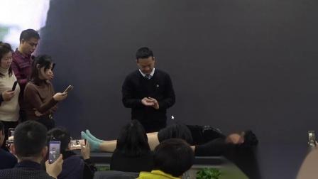 中医针灸视频,冯际良老师现场演示治疗效果立竿见影