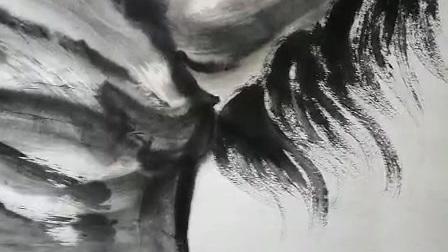著名书画家,文化部艺术品评估委员会委员,教育部中国人生科学学会艺术顾问,中国国书画联谊会会员,中非友好经贸发展基金会艺委会执行主席高强现场作画《前程万里》