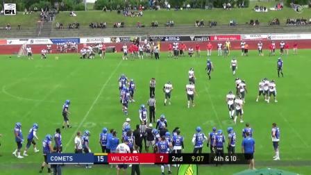 2019赛季德国美式橄榄球联盟Allgau Comets vs Kirchdorf Wildcats