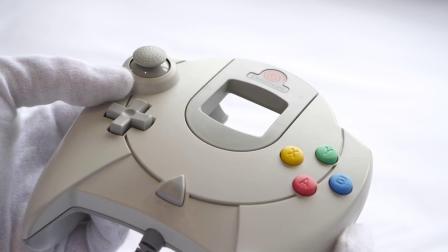 DC 世嘉梦工厂 Dreamcast 主机周边游戏开箱