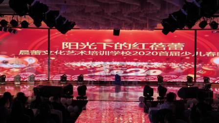 奇台县晨蕾文化艺术培训学校 2020少儿春晚 阳光下的红蓓蕾全程
