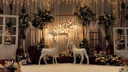 美爵婚礼策划-济南荷花园酒店婚礼-济南婚庆公司