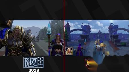 【游民星空】《魔兽争霸3重制版》过场动画对比2018年嘉年华