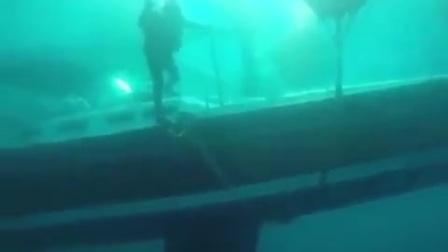 打捞海底沉船
