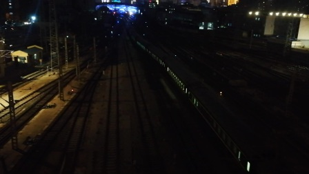 火车视频  Z272济南一场发车