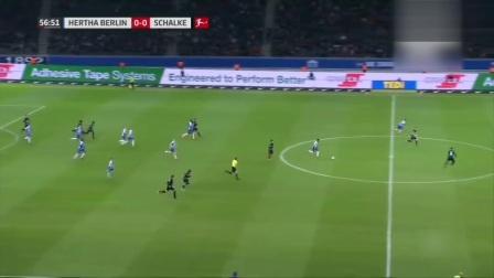 柏林赫塔0-0沙尔克04 沙尔克数次进攻受挫 心态崩了