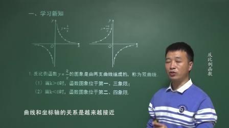 第二节 反比例函数的图象