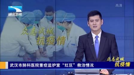 """武汉市肺科医院重症监护室""""红区""""救治情况"""
