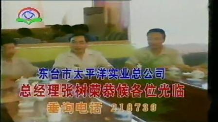 1995年 中国江苏盐城东台电视台天气预报前广告