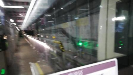 深圳地铁9号线淡咖啡编号921出南油站