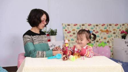 听力残疾儿童家庭康复训练视频1-冰淇淋
