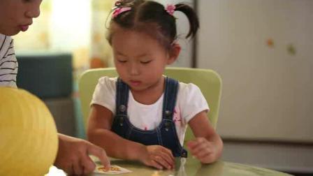 听力残疾儿童家庭康复训练视频5-喝牛奶
